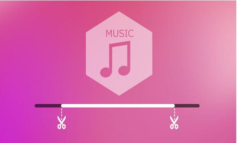 cortar música